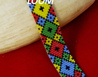 BEADBRICKIE DIAMONDS + Loom Bracelet Pattern