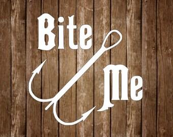 Bite Me // car decal