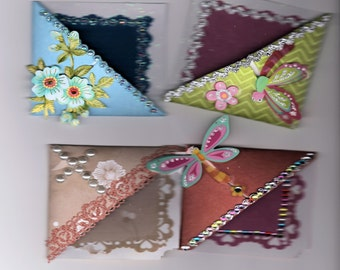 Corner of page - page bookmark - bookmark corner, Page marker, gifts