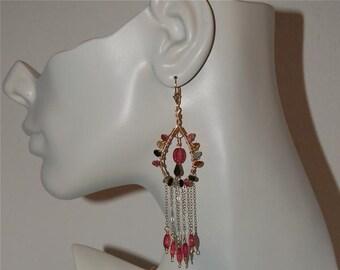 Stewart's hot pink! Tourmaline Earrings
