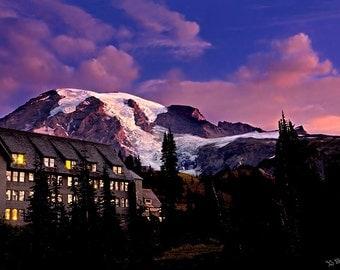 Mt. Rainier Morning