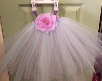 Pink and Blue Tutu Dress (12-24mo)