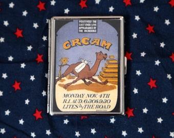 Cream cigarette / ID case