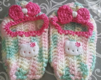 Hello Kitty Crochet Girls Shoes