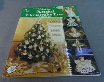 Crochet Patterns, Ultimate Angel Christmas Tree, Annies Attic 871611, Thread Crochet, Christmas Decor, Tree Decor