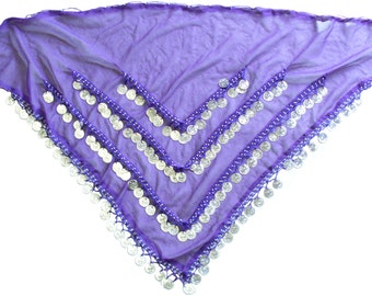 3-Row Belly Dancing Coin Belt