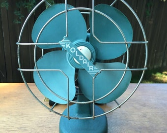 "RARE! Vintage ""Koldair"" Desk Top Fan"