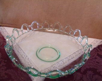 decorative Glass Bowl with Hole for lighting