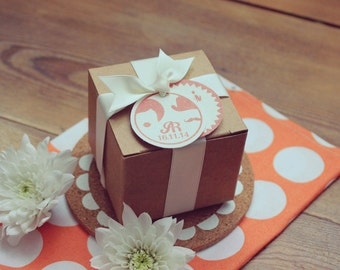 Gifts to guests wedding - the Picto