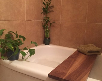 Custom Wooden Bath Caddy