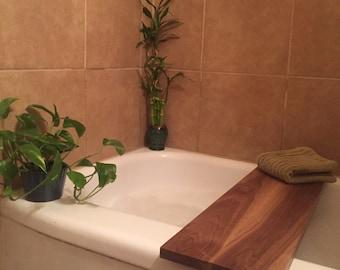 Custom Wooden Bath Caddy