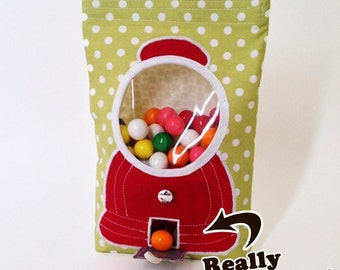 Goody Goody Gumball Treat Bag Pattern by Cozy Nest Design