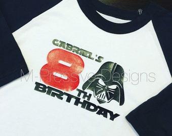 Star Wars Inspired Birthday Shirt