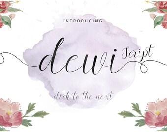 Dewi Script Fonts