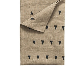 Jodhpur linen tea-towel