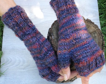Mittens, FIngerless Gloves, Wool