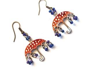 Umbrellas Earrings, Dangle Earrings, april trends, april finds, april best, perfect gift, best gifts, fun gifts, gift ideas