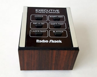 90s Radio Shack Executive Stress Eliminator - Electronic Sound Machine - Laser Sounds