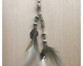 Dreadlock Feather Accessory