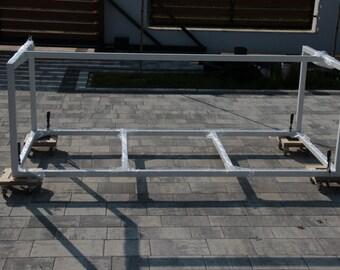 Table steel frame