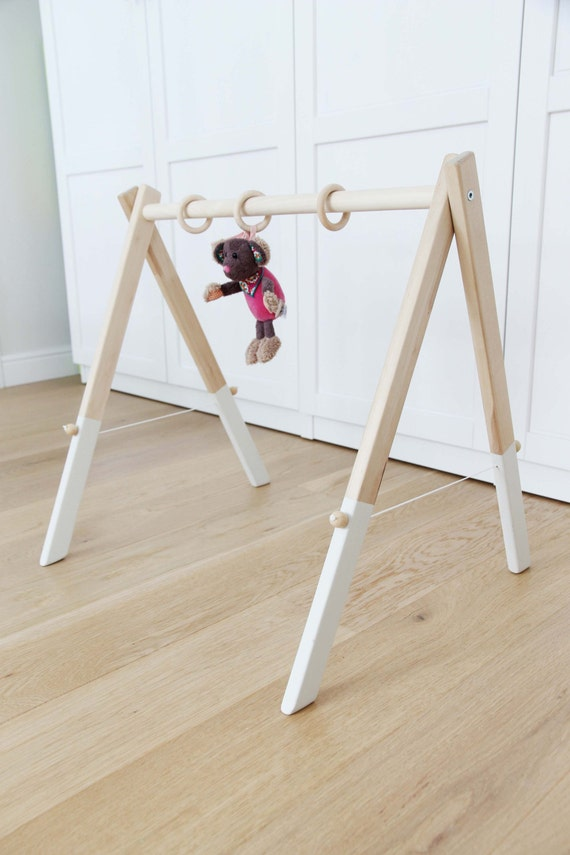Wooden Baby Gym No Hangers Only Frame By Mrhomelt On Etsy