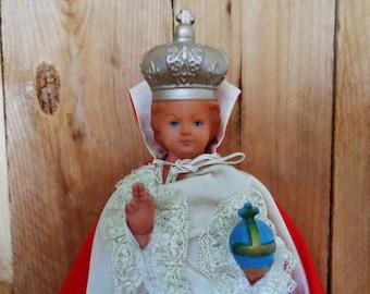 Vintage Holy Child Infant of Prague