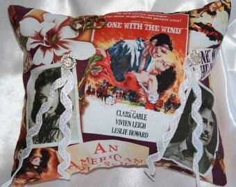 cinema wedding pillow