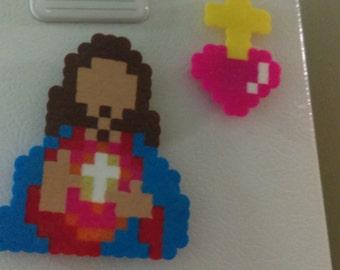 Jesus Cristo Perler Magnet set