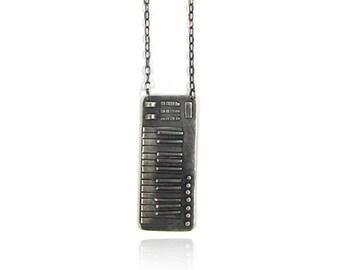Sarpong Keyboard Necklace