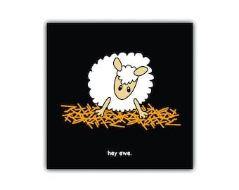 Black sheep cards (greeting/sorry/thanks)