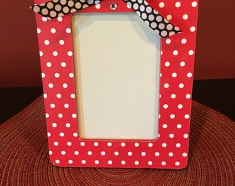 minnie mouse picture frame girls frame disney frame