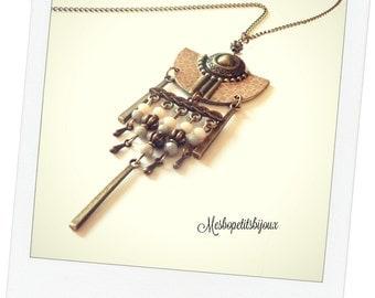 Necklace original spirit Bohemian Japanese patterns