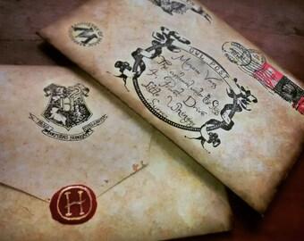Handwritten Hogwarts Acceptance Letter