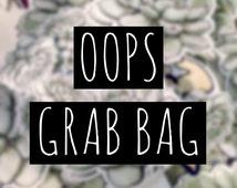 Oops 4 Sticker Grab Bag SALE