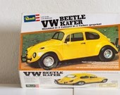 Revell VW Beetle Käfer - Schaal 1/25 - Plastic Model Kit H-7211 - 1980 - vintage