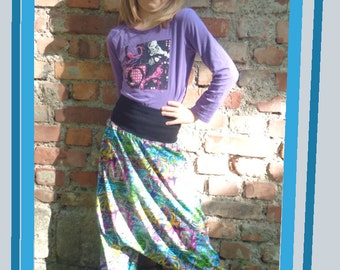 Harem pants in the Graffitistyle