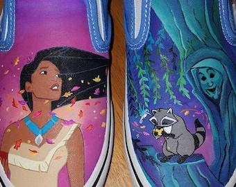 Pocahontas Painted Vans