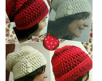 Slouchy Crochet Adult Hat