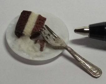 Dolls House Miniature Cake Slice