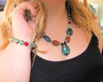 Arizona Awe Necklace and Bracelet Set