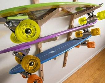 Skateboard Storage Rack, Skateboard Rack
