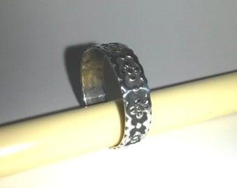 Silver Flower Ring, Silver Ring, Flower Ring