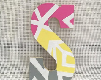 Wooden Letters for Kids Room