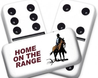 Home/Range Custom Personalized Dominoes Set
