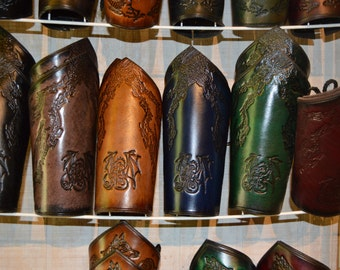 Pointed Dragon Bracers