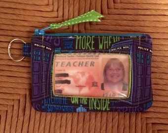 Doctor Who ID Wallet / Coin Purse