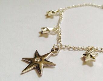 Celestial Star Charm Bracelet