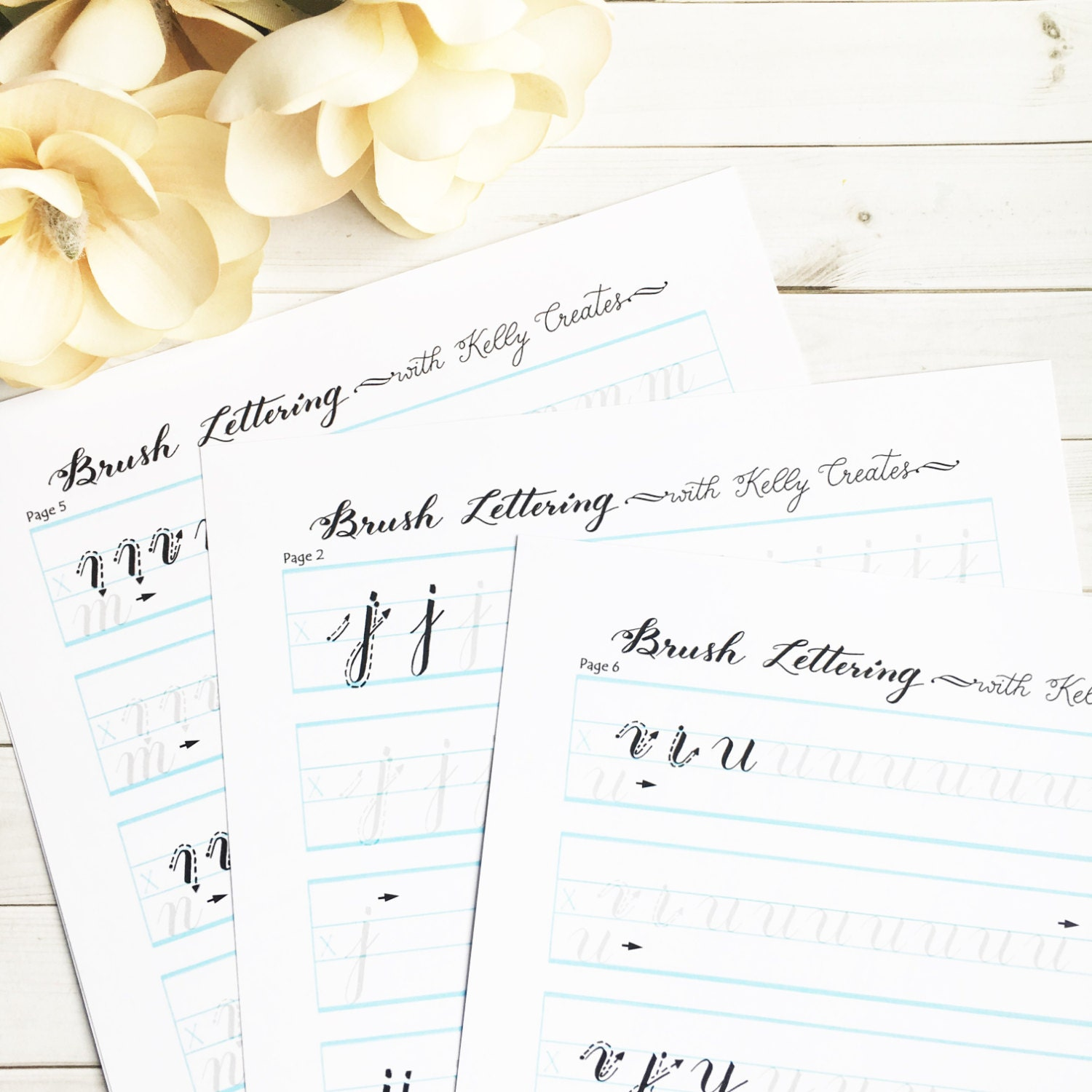 Home / All Products / All Products / Downloadable Brush Lettering ...