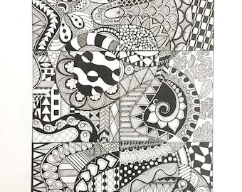 Pattern drawing