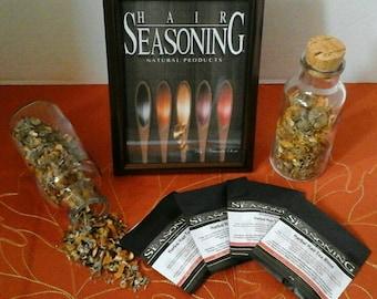Herbal Hair Tea Rinse Set of 4